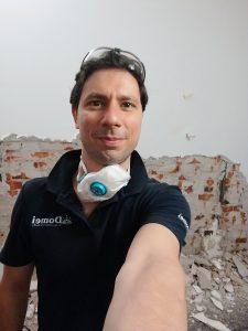 Foto Andrea Bernardi esperto in diagnosi di problemi di muffa Domei